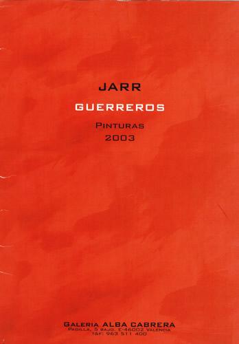 JARR. Guerreros. Portada